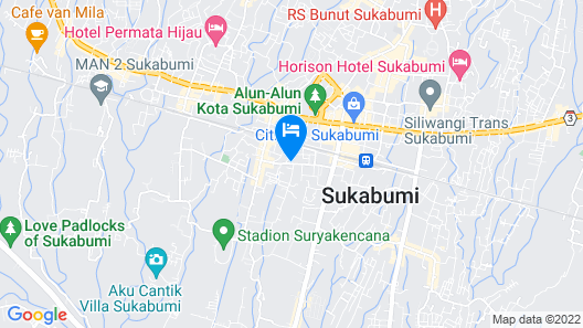 Sparks Odeon Sukabumi Map