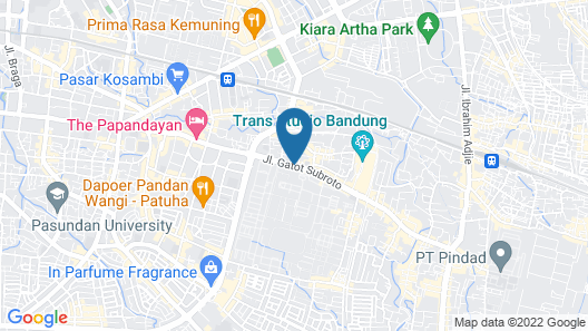 ibis Bandung Trans Studio Map