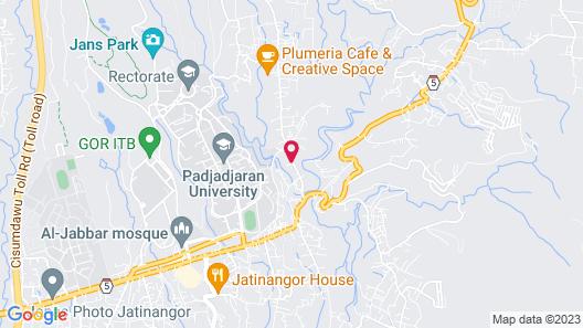 Trendy & Relaxing Studio at Taman Melati Jatinangor near Universitas Padjadjaran Map
