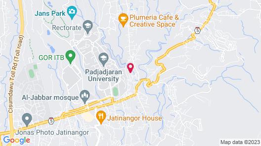 Casa De Aminda Map