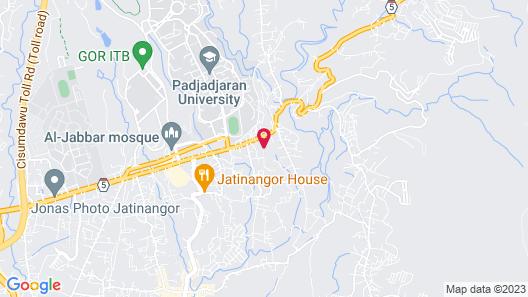 Sahid Skyland City Jatinangor Hotel Map