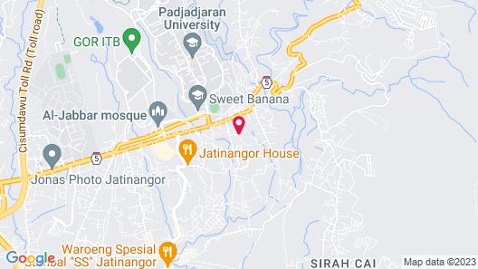 RedDoorz @ Jatinangor Map