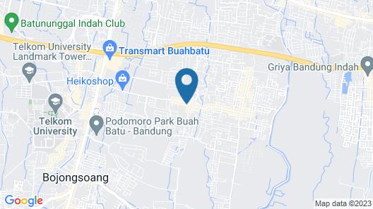 OYO 2401 Ardini Residence Syariah Map