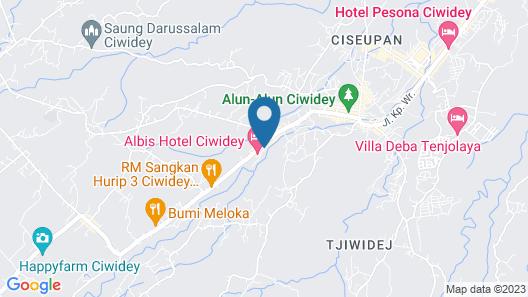 Villa Penginapan Purnama Map