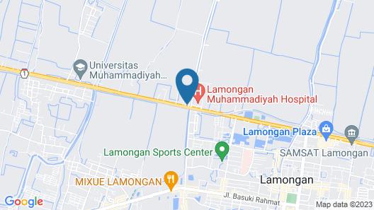 Hotel Boegenviel Syariah Map