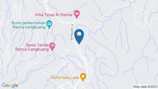 Argapuri Resort in Jungle Map