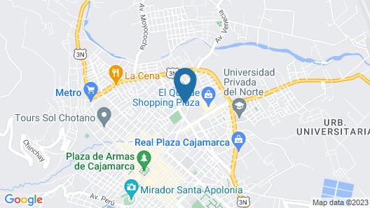 Hotel El Ingenio Map