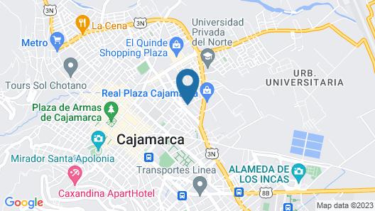 San Roque Lodge Map
