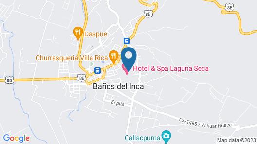 Hotel & Spa Laguna Seca Map