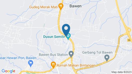 Dusun The Villas Map