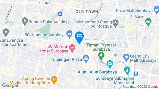 Doubletree By Hilton Surabaya Map