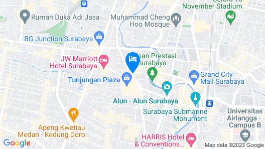 Hotel Majapahit Surabaya - MGallery Map