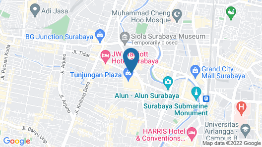 Four Points by Sheraton Surabaya Map