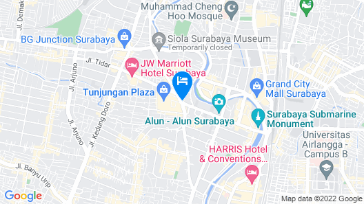 Swiss-Belinn Tunjungan Surabaya Map