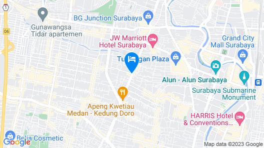 Holiday Inn Express Surabaya CenterPoint, an IHG Hotel Map