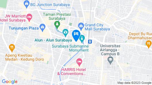 Hotel ELMI Surabaya Map