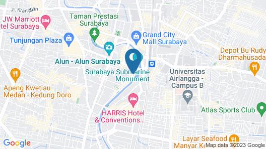 Hotel 88 Embong Kenongo Map