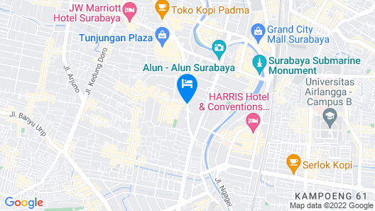 ibis Surabaya City Center Map