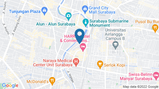 My Studio Hotel Surabaya - Hostel Map