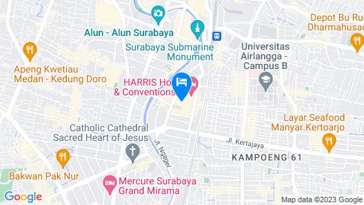Hotel Neo Gubeng - Surabaya by ASTON Map