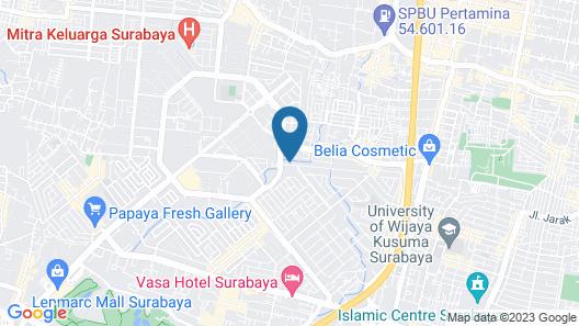 ZEN Rooms Family Guest House Kupang Baru Map