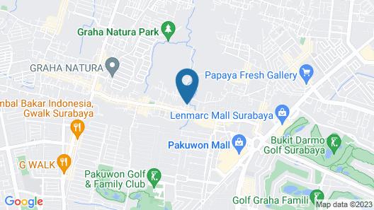 Kost 48 Surabaya Map
