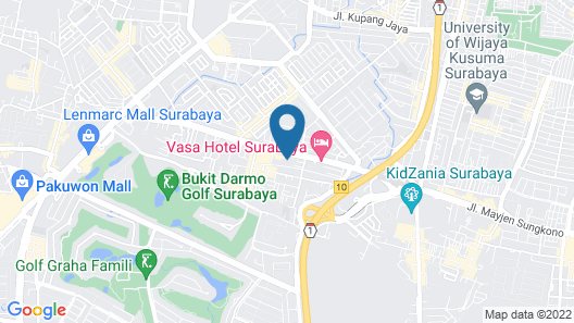 Spacious 1BR Apartment at Taman Beverly Map