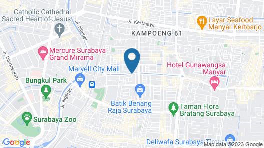 Pondok Asri Family Guest House Map