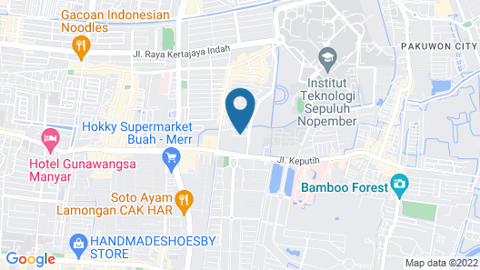 Apartement Puncak Kertajaya New By Prafi Map