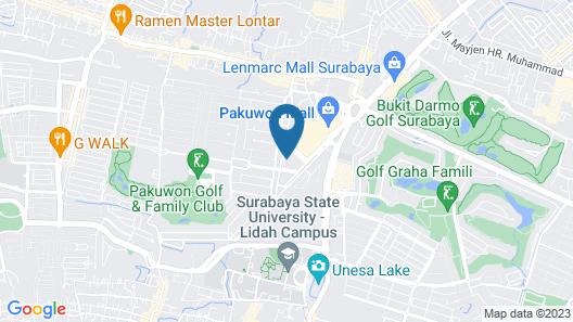 Fifi Sewa Apartemen Surabaya Map