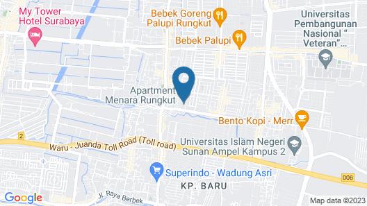 Menara Rungkut Bizz Square By Deddy Map