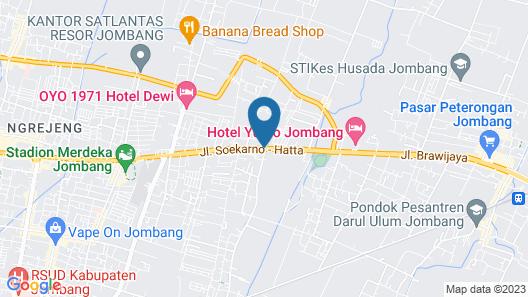 Green Red Hotel Syariah Jombang Map