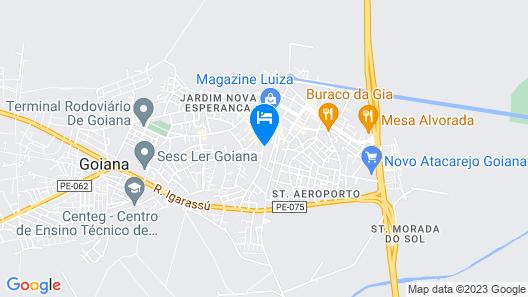 Renascente Hotel Map