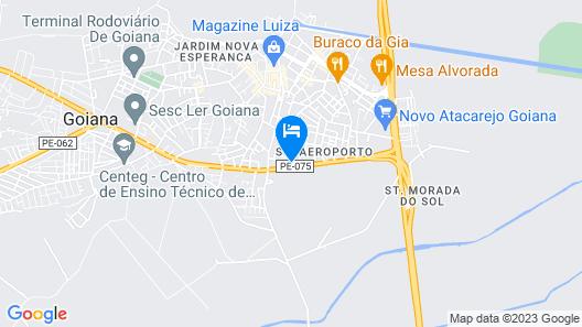 Goiana Palace Hotel Map