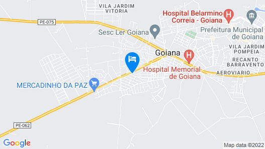 Hotel Go Inn  Goiana Map