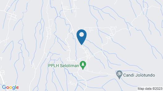 Ecolodge Seloliman Map