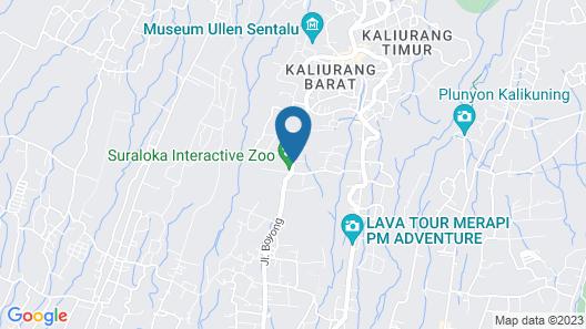 Griya Persada Convention Hotel & Resort Kaliurang Map