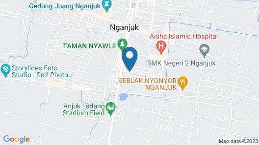 RedDoorz Syariah @ Winong Nganjuk Map