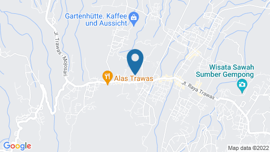 Royal Trawas Hotel & Cottages Map