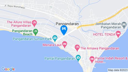 VK Pods Pangandaran - Hostel Map