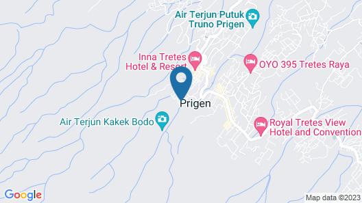 Pines Garden Resort Map