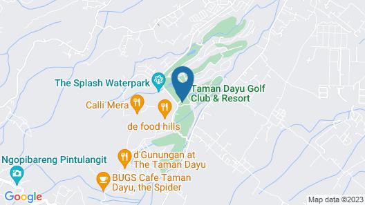 OYO 2001 Taman Dayu Villa Golf View Map