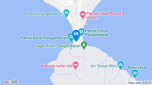 Horison Palma Pangandaran Map
