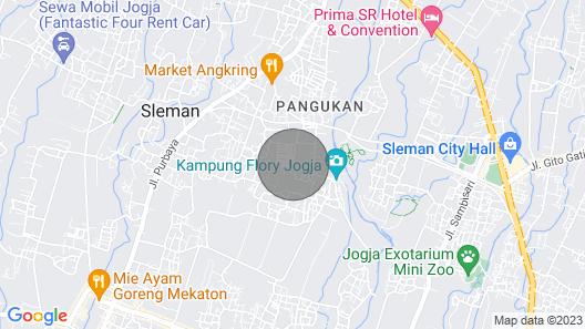 Rengganis Homestay Yogyakarta Map