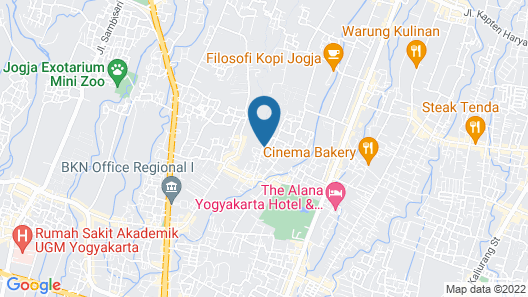 Rumah Kecil Jatirejo Map