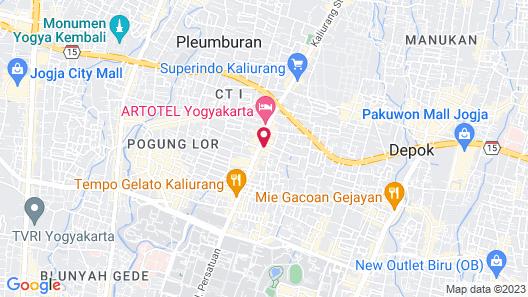 PULANG ke UTTARA Map