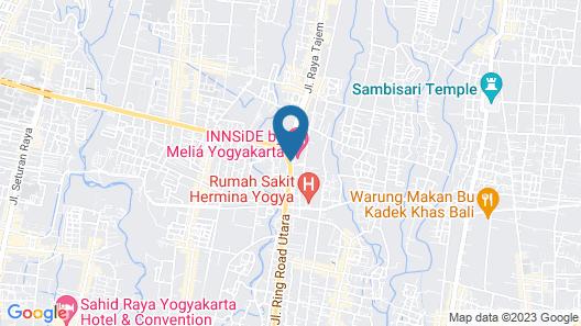 INNSiDE by Melia Yogyakarta Map