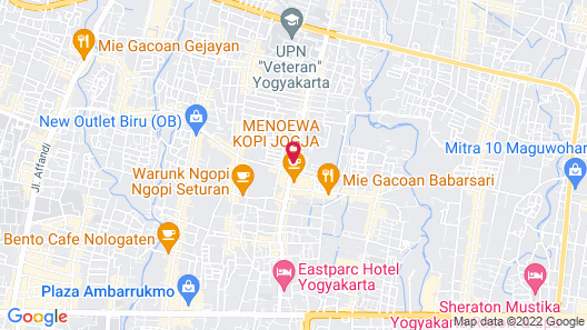 Student Park Hotel Map