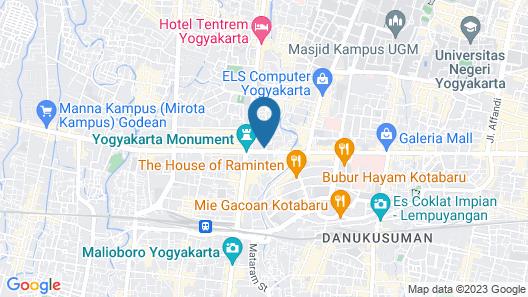 The Phoenix Hotel Yogyakarta - MGallery Collection Map