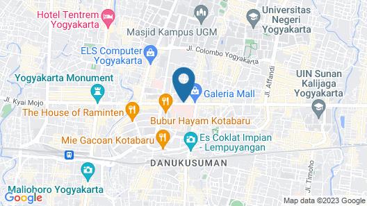 Novotel Yogyakarta Map
